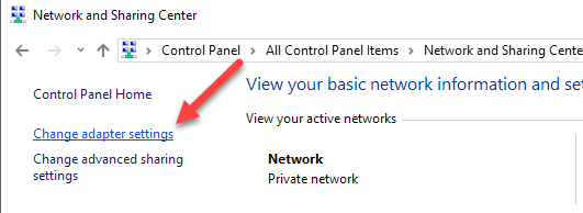 how do you change your ip address on windows 10
