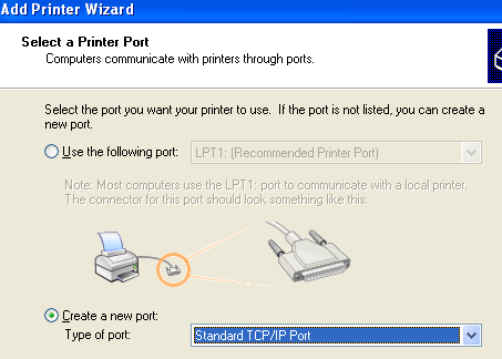 how to see network printer ip address