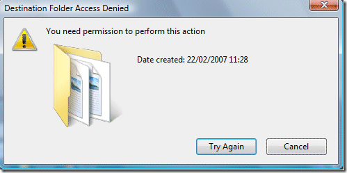 "Error: ""you need permission to perform this action"" on microsoft."