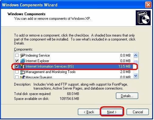 45588 microsoft components that might be needed during the.