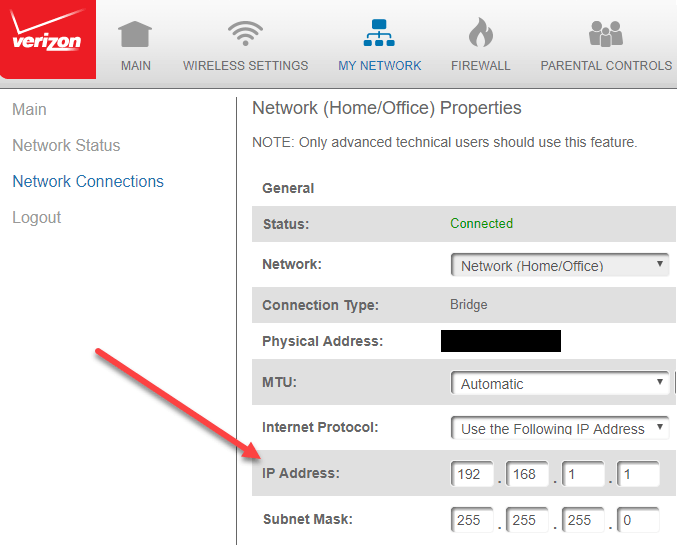 how to find router default ip address
