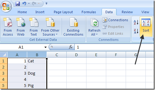 how to open excel with lines
