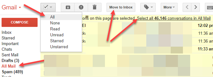 download all gmail folders to outlook