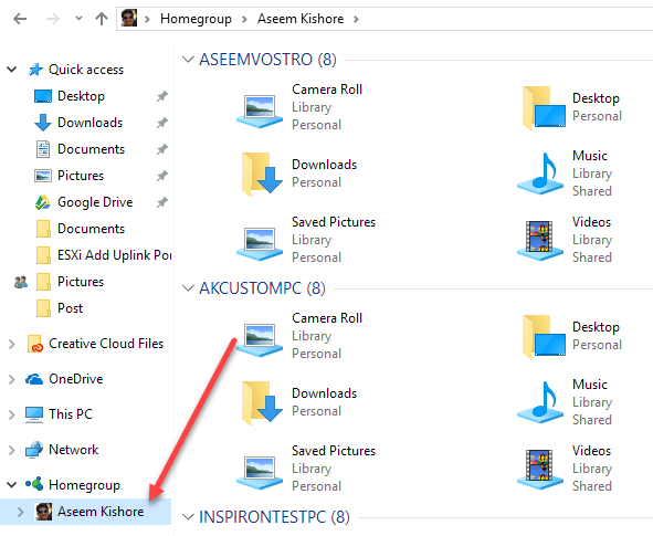 how to connect to homegroup windows 7