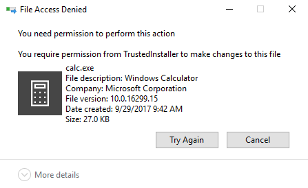 Fix: you need permission to perform this action cannot delete.