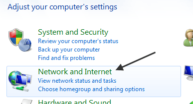 how to share printer in network win 7