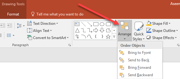 How to layer objects in a powerpoint presentation to layer the objects differently from the default order begin by clicking on the home tab on the ribbon and locating the section titled drawing toneelgroepblik Gallery