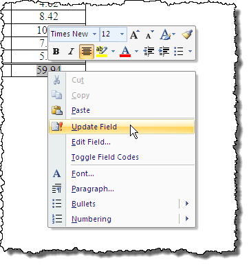 how to add a column to a table in word