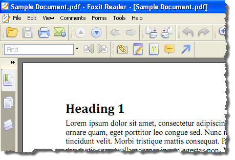 how to create a pdf file from word 2007