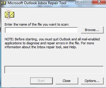 scanpst.exe pour outlook 2003
