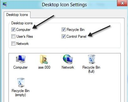4 Ways to Access the Control Panel in Windows 8