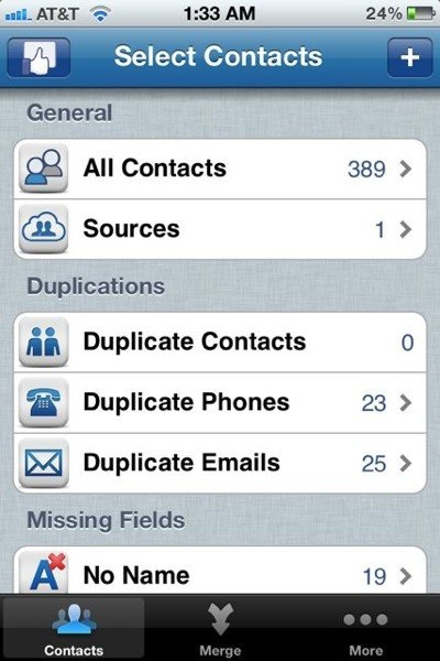 how to delete duplicate phone numbers on iphone