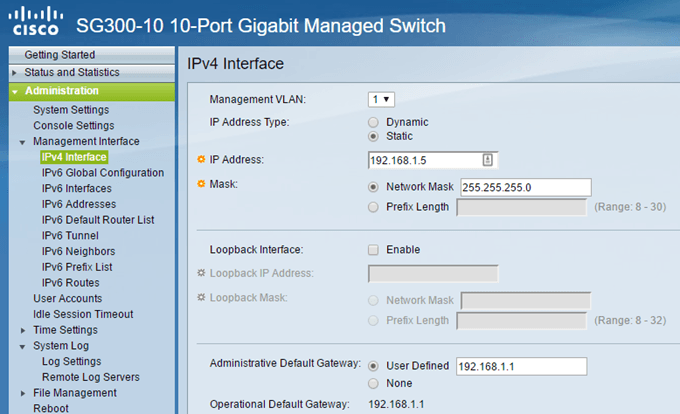 how to find ip address in cisco switch